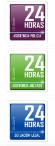 A su disposición 24 horas